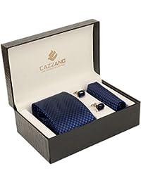 Cazzano Checkered Men's Tie Set (TCPNC172)