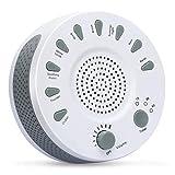 Manli Sleep White Noise Machine Beruhigende Natürliche Geräusche gegen Schlafstörung