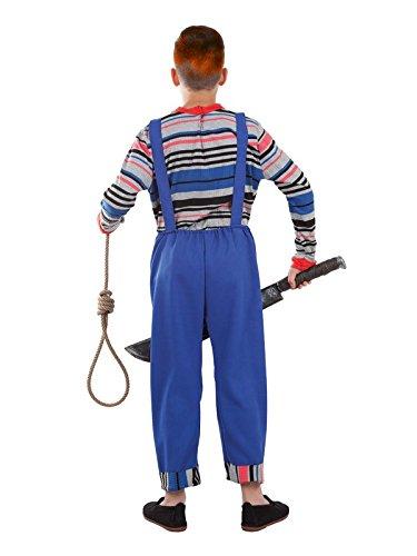 Imagen de disfraz de muñeco diabólico niño  único, 9 a 11 años alternativa