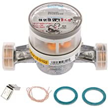 Contador de agua residencial ETWD Q3=4 (Qn 2,5) Conector rosca