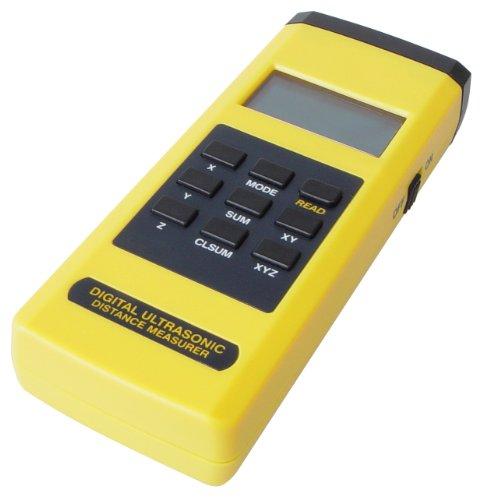Transmedia, ZM30L, Tester di distanza ultrasonico digitale, campo di misura fino a 12