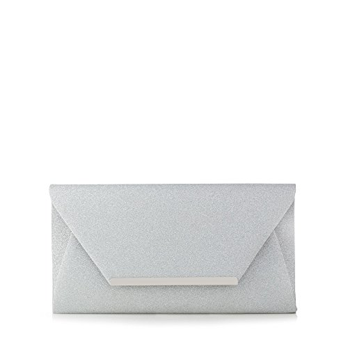 debut-womens-silver-glitter-envelope-clutch-bag