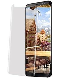 Pacyer Funda Samsung Galaxy S8 Fecha Carcasa Modelo Fip inteligente Clear View una casa delgado metal