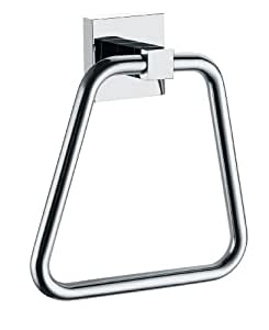 Wall Mounted Towel Ring with a Polished Chrome Finish