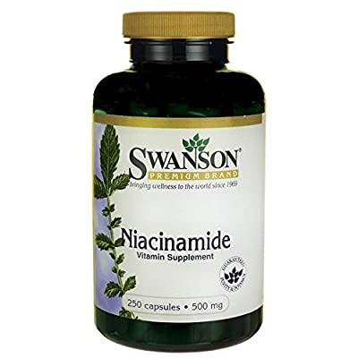 Swanson Niacinamide 500mg (250 Capsules) from Swanson Health Products