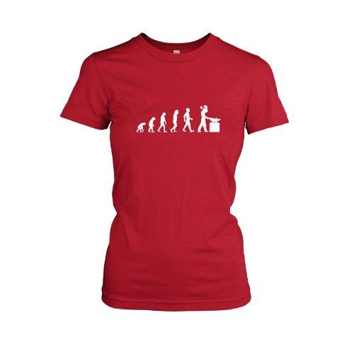 TEXLAB - Schmied Evolution - Damen T-Shirt Rot