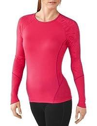 Smartwool Damen Unterhemd Shirt Langarm Women's NTS Light 195 Printed Crew
