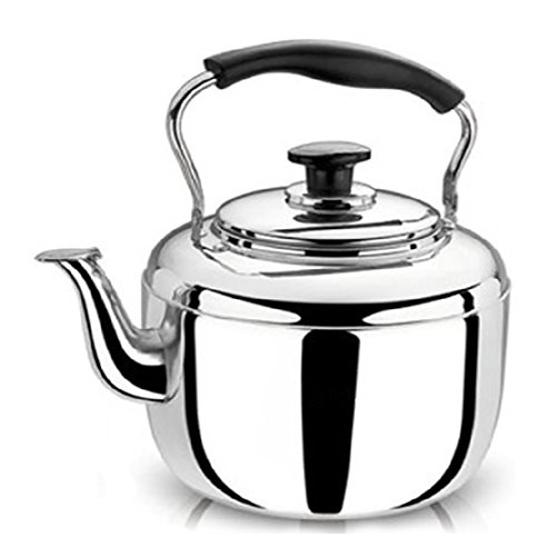 FGDJTYYJ Edelstahl Wasserkocher Teekanne Haushaltsgas Erdgas Kocher Große Kapazität 4L5L6L, 001