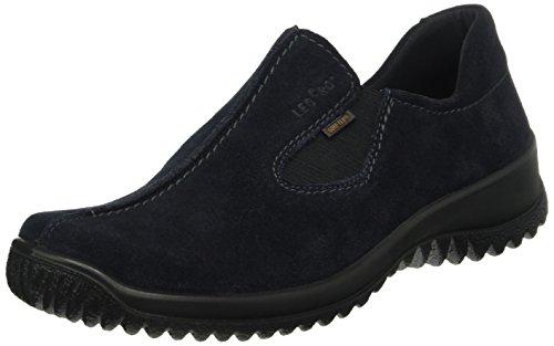 Legero Damen Softboot Halb 700568 Slipper Blau (PACIFIC 80)