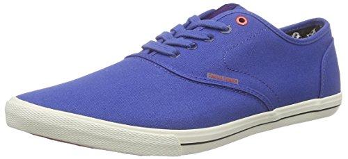 Jack & JonesJjspider Canvas - Zapatillas hombre , color Azul, talla 41