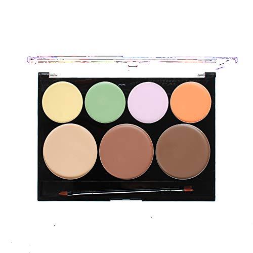 1 paquete paleta contorno kit maquillaje corrector