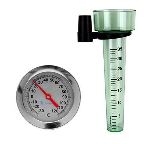 lantelme-6133-bimetall-erdboden-kompostthermometer-und-regenmesser-thermometer-30-bis-50-grad-mit-50