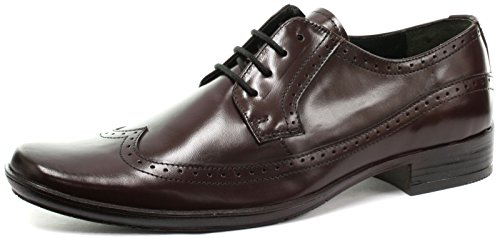 Frank James Kester Homme Mocassin Bordo