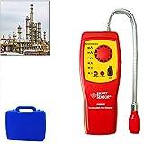 BIKEULTIMATE Rilevatore di Gas Naturale di Gas Portatile Leak Detector, Gas Sniffer, combustibili Propano Gas metano del Tester del rivelatore del sensore Meter con Luce Suono di Allarme Regolabile