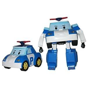 Véhicule Transformable Robocar Poli Le policier Poli