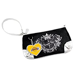 NBA Los Angeles Lakers Sport Luxe Fan Wristlet