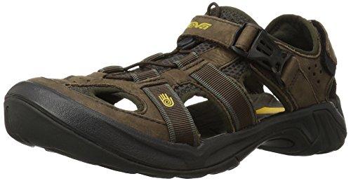 Teva Omnium Cuir 8890, Chaussures de marche homme Marron