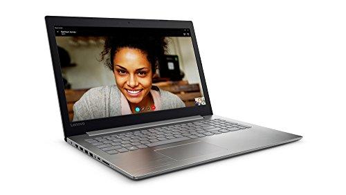 """Lenovo Ideapad 320-15IKBN - Portátil de 15.6"""" HD (Intel Core i5 7ª Generación, 8 GB RAM, 256 GB de SSD, Windows 10), plata- teclado QWERTY español"""