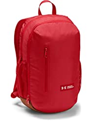 Under Armour UA Roland Backpack Mochila, Unisex Adulto, Rojo (Red/Sienna Brown/White 600), Talla única