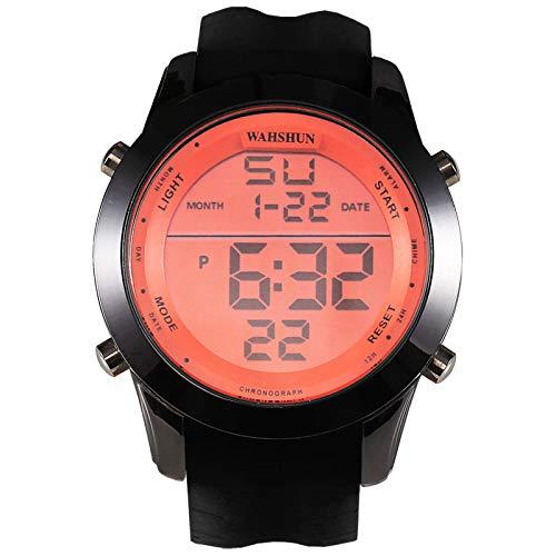 UINGKID Herren Uhr analog Quarz Armbanduhr wasserdicht Uhren Lässig und einfach Digital Alloy Dial Komfortable Strap Sport e Uhr