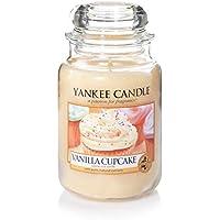 Yankee Candle bougie jarre parfumée, grande taille, Gâteau à la vanille, jusqu'à 150heures de combustion