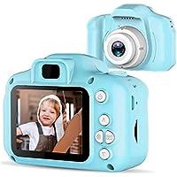 Docooler Mini Camera per Bambini, 1080P Videocamera Digitale con Schermo LCD da 2 Pollici per Regalo di Compleanno di Natale