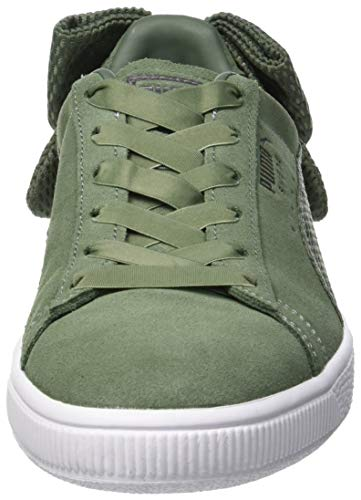 Puma Women s Suede Bow Uprising WN s Low-Top Sneakers 57b9b8c4a