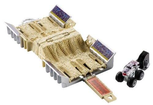 Hot Wheels Monster Jam Mini Monster Big Screen Breakdown Spielset (Jam-trucks Mini-monster)