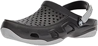 Crocs Swiftwater Deck Clog Men, Sabots Homme, Noir (Black/light Grey) 43/44 EU (B072LPPTJJ) | Amazon price tracker / tracking, Amazon price history charts, Amazon price watches, Amazon price drop alerts