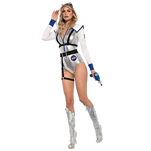 Leg Avenue 8673901101 3 teilig Set Galaxy Girl, Damen Karneval Kostüm Fasching, Mehrfarbig, Größe S (Galaxy Girl Kostüm)