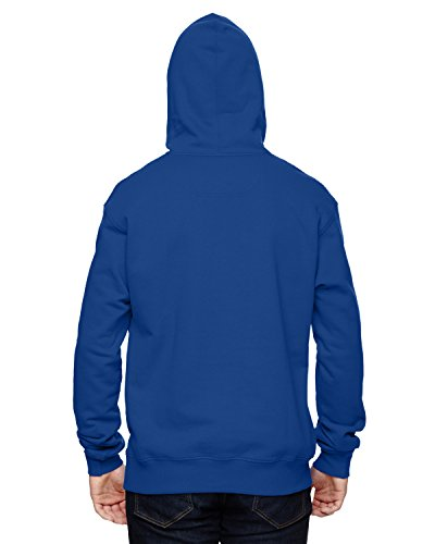 Champion 9.7 OZ, 90/10 Cotton Max Pullover Hood Athletic Royal
