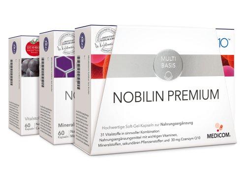 nobilin Premium Kombi Contenu du 180St Capsules
