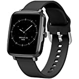 BFIT Gen B1 Touchscreen Unisex Stainless Steel case smartwatch with HRM, Temperature Measurement, and Upto 15 Days Active Bat