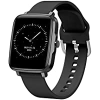 BFIT Gen B1 Touchscreen Unisex Stainless Steel case smartwatch with HRM, Temperature Measurement, and Upto 15 Days…