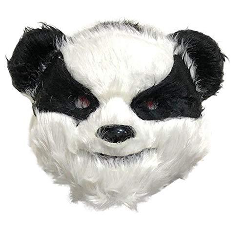 Scary Kostüm Bunny - FIREWSJ Halloween Maske Halloween Horror Mask Streich Evil Rabbit Mask Plüschtier Bunny Scary Mask Plüschtier Terror Party Kostüm