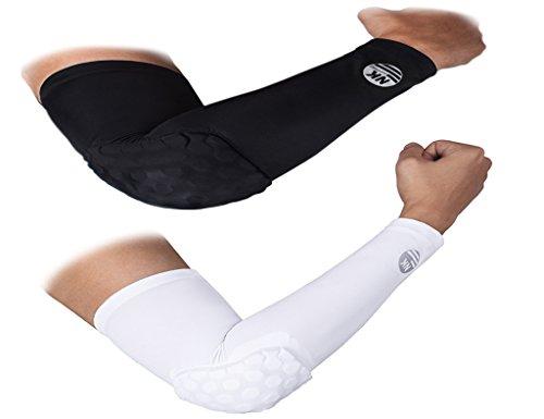 DODOING Hex Pad Arm Sleeves Anti Rutsh für Erwachsene Kinder Sports Basketball Power Shootor