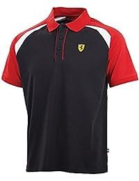 Polo Course Homme Ferrari Scuderia Tricolore Ferrari