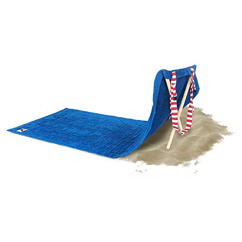 Price comparison product image Origama Sun Seat American Eagle - Luxury Beach Towel with backrest. Beach Towel, Beach Chair and Sun Lounger in one Product.