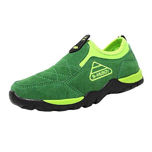 Amurleopard Chaussures sport enfant garcon Vert