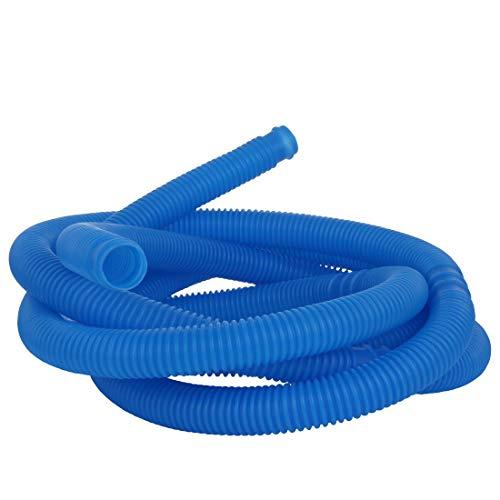 Blueborn Poolschlauch PH Ø 38 mm x 5m Schwimmbadschlauch flexibler Saugschlauch teilbar alle 100cm