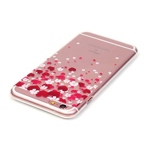 "iPhone 6S Plus /6 Plus Coque, LANDEE TPU silicone Coque pour iPhone 6S Plus / iPhone 6 Plus (5.5"") Housse Etui anti chocs Back Cover Bumper Case (6SP-T-0212) 6SP-T-0209"