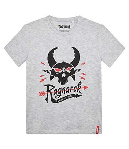 Fortnite Camiseta para Niños (10 años, Gris Claro)