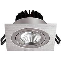 Sulion Cobfix Empotrarle Orientable Aluminio 9 W Gris 9 x 9 x 6.5 cm