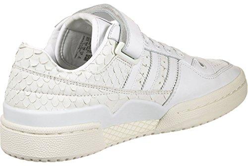 adidas Forum Lo W, Chaussures de Gymnastique Femme Blanc Cassé (Ftwr White/ftwr White/chalkwhite)