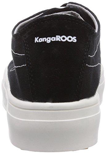 KangaROOS K-mid Plateau 5071, Baskets Basses femme Noir - Schwarz (black 500)