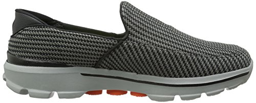 Skechers Herren Go Walk 3 Low-Top Grau (CCOR)