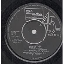 "DECEPTION 7 INCH (7"" VINYL 45) UK TAMLA MOTOWN 1975"