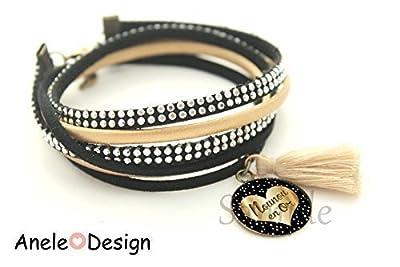 Bracelet manchette Nounou en or