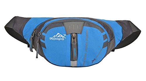 Baymate Unisex Multifunzione Viaggiare Trekking A Viaggiare Ciclismo Marsupio Blu