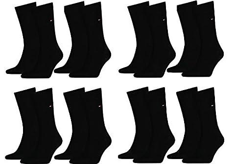 Tommy Hilfiger - Chaussettes basses - Homme noir Schwarz 39-42